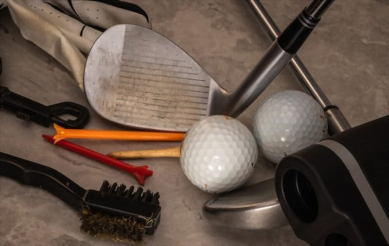 Useful items for cleaning golf balls