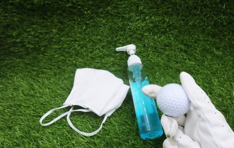 will cleanser damage the golf ball