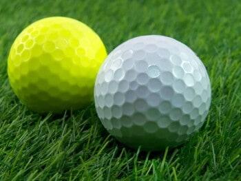 best high visibility golf balls