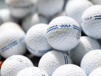 recycled vs refurbished golf balls