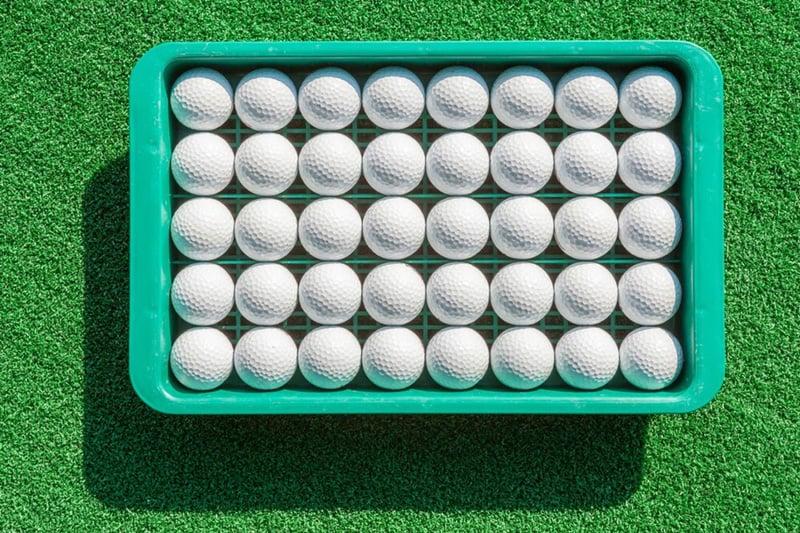 refurbished golf ball